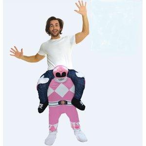 Huckepack - Piggyback: Pink Power Rangers