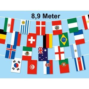 Bandiera Catena: 32 paesi Coppa del Mondo 2018 8.9m