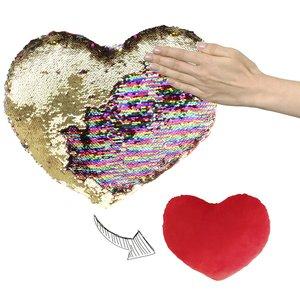 Coeur à paillettes