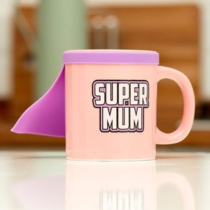 Super Mum mit Cape