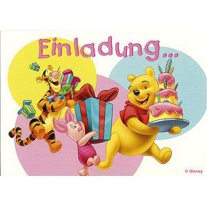 Winnie the Pooh Einladung
