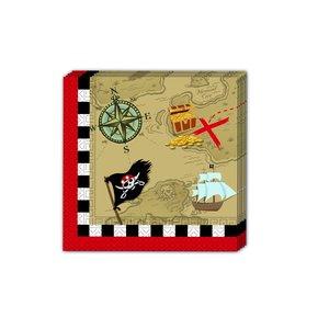 Piraten Schatzkarte 20er Set
