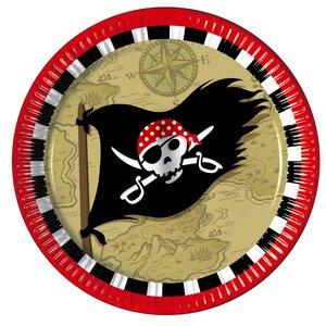 Piraten Schatzkarte 8er Set