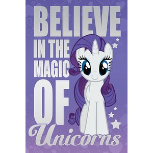 My Little Pony: Believe In The Magic Of Unicorns