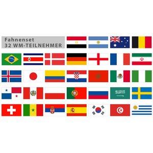 Coupe du Monde 2018 - ensemble de pays