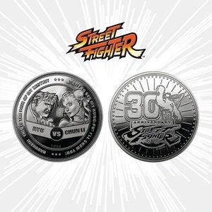 Street Fighter - 30th Anniversary: Münze - Ryu vs Chun-Li