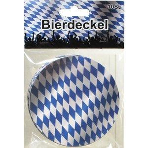 Oktoberfest: Bierdeckel Bayrisch