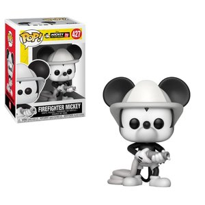 POP! - Micky Mouse: 90th Anniversary Firefighter Mickey