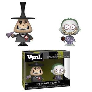 VYNL - Nightmare Before Christmas: Mayor & Barrel