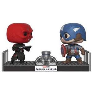 POP! Movie Moments - Marvel: Captain America & Red Skull