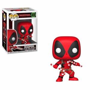 POP! - Marvel Comics: Holiday Deadpool (Candy Canes)