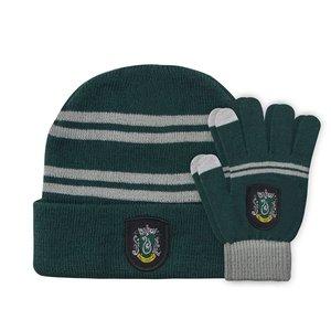 Harry Potter: Beanie & Handschuhe Slytherin
