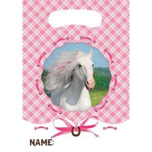 Weisses Pferd (8er Set)
