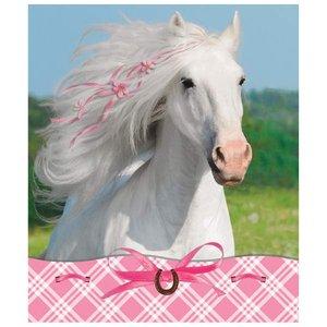 Weisses Pferd (4er Set)
