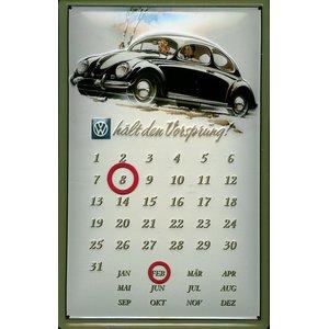 VW Hält Den Vorsprung - Dauerkalender