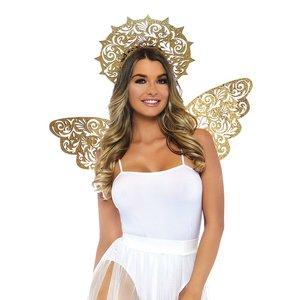 Goldener Engel 2er Set