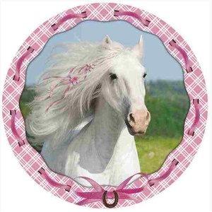 Decorazione Torta: Cavallo bianco