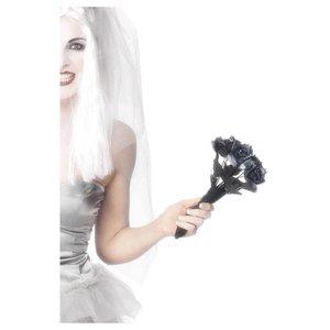 Bouquet di rose per la sposa zombie