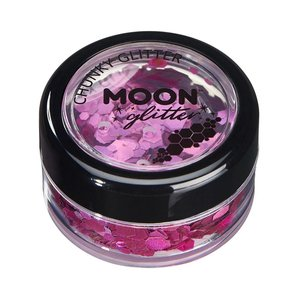 Moon Glitter Chunky - Pink