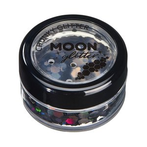 Moon Glitter Chunky - Schwarz