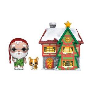 POP! - Christmas Village: Santas House with Santa & Nutmeg