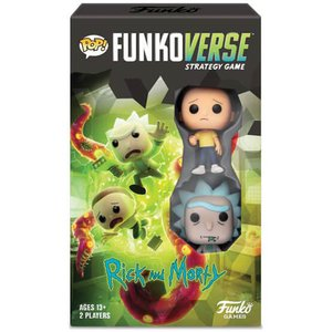 Rick and Morty: Funkoverse (2 pezzi) - tedesco