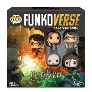 Harry Potter: Funkoverse (4 pièces) - englais