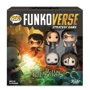 Harry Potter: Funkoverse (4 pezzi) - inglese