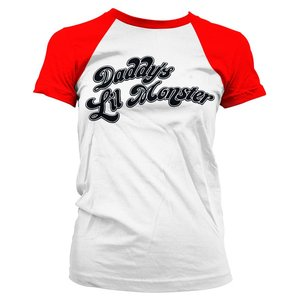 Suicide Squad: Harley's Shirt - Daddy's Lil Monster
