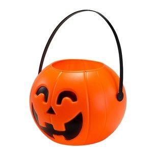 Kürbis-Korb für Halloween-Süssigkeiten