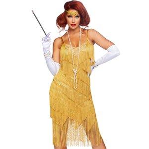 20er Jahre Charleston - Golden Lady Flapper