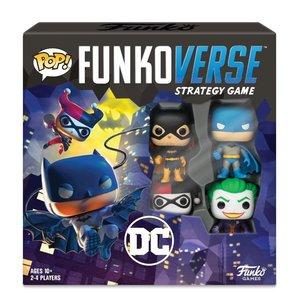 DC Comics: Funkoverse (4 pièces) - englais