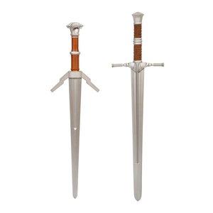 Witcher: 1/1 Steel and Silver Schwert - 2er Set