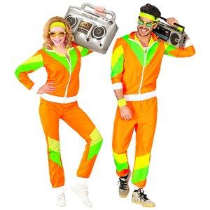 80er Jahre - Neon Trainingsanzug
