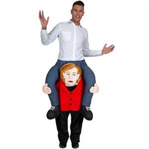 Huckepack - Carry Me: Kanzlerin Angela