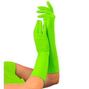 80er Jahre - Neon grün lang