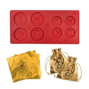Harry Potter: Stampo di Praline - Gringotts Bank Coin