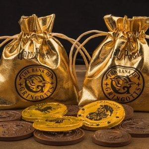Harry Potter: Pralinenform - Gringotts Bank Coin - Münzen