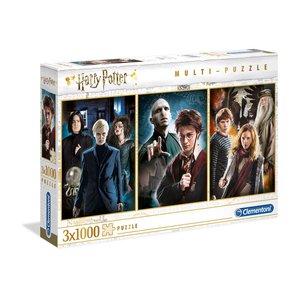 Harry Potter: Characters - 3er Pack (je 1000 Teile)