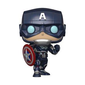 POP! - Marvel's Avengers: Captain America  (2020 Video Game)