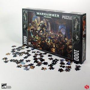 Warhammer 40K: Gulliman vs Black Legion (1000 pezzi)