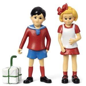 Pippi Calzelunghe: Set Tommy & Annika - 3 pezzi