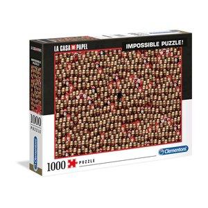 La casa di carta: Maschere - Dali (1000 pezzi)