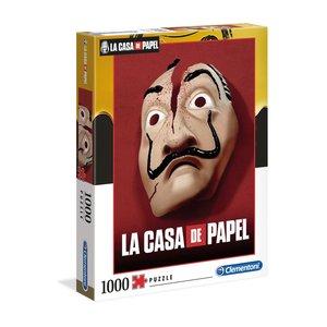 La casa di carta: Maschera - Dali (1000 pezzi)