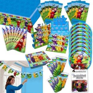 Teletubbies: Box per il compleanno per 8 bambini