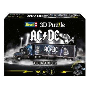 AC/DC: Truck & Trailer 3D Puzzle (128 pezzi)
