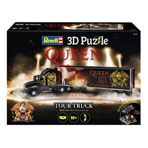 Queen: Truck & Trailer 3D Puzzle (128 pezzi)