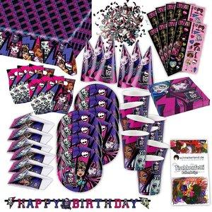 Monster High: Box d'anniversaire pour 6 enfants