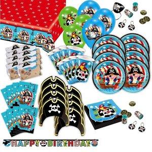 Piraten: Geburtstags-Box für 8 Kinder