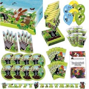 Der kleine Maulwurf: Geburtstags-Box für 8 Kinder